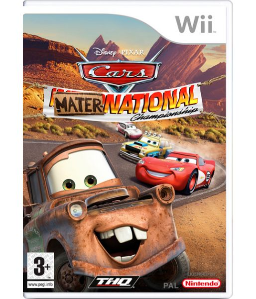 Cars: Mater National Championship [русская инструкция] (Wii)