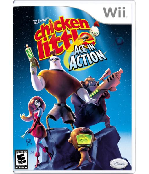 Chicken Little Ace in Action (Wii)
