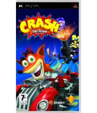 Crash Tag Team Racing [Essentials, английская версия] (PSP)