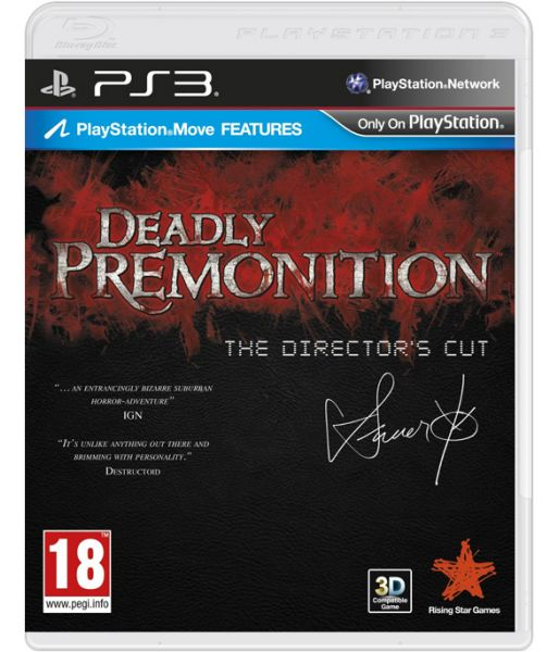 Deadly Premonition: The Director`s Cut [Move Edition] (PS3)
