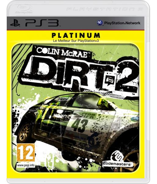Colin McRae DiRT 2 [Platinum] (PS3)