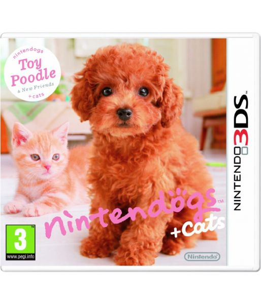 Nintendogs+Cats Toy Poodle & new Friends [русская версия] (3DS)