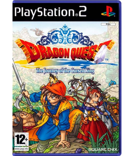 Dragon Quest - The Journey of the Cursed King [Platinum] (PS2)