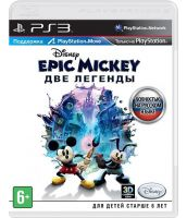 Epic Mickey 2: The Power of Two [русская версия] (PS3)