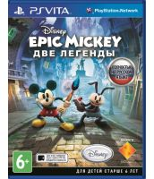 Epic Mickey 2: The power of two [русская версия] (PS Vita)