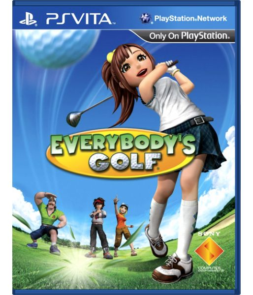 Everybody's Golf [русская документация] (PS Vita)