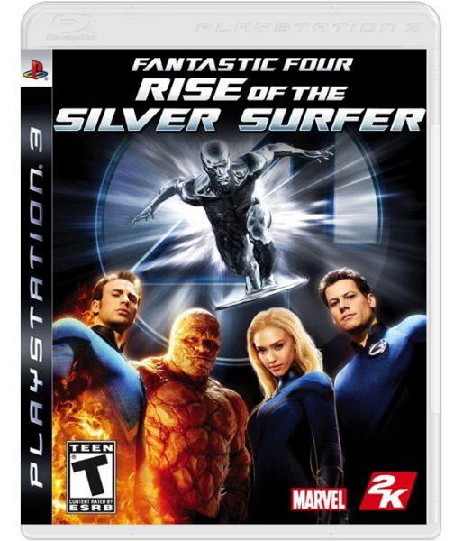 Fantastic Four: Rise of the Silver Surfer (PS3)