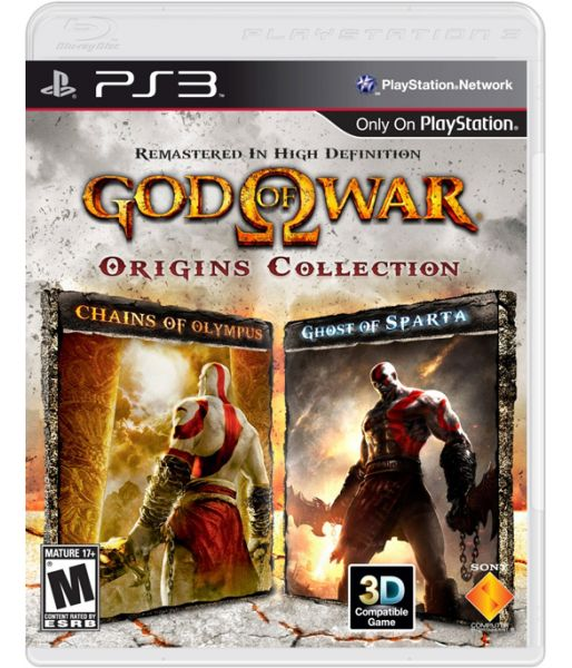 God of War: Collection 2 [essentials, рус. док.] (PS3)