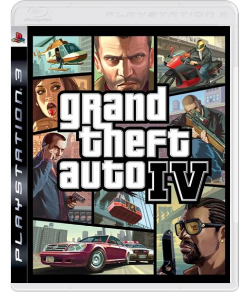 Grand Theft Auto IV [Platinum] (PS3)
