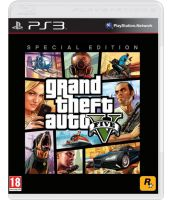 Grand Theft Auto V Special Edition [GTA 5 Русская версия] (PS3)
