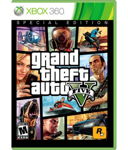 Grand Theft Auto V Special Edition [GTA 5 Русская версия] (Xbox 360)