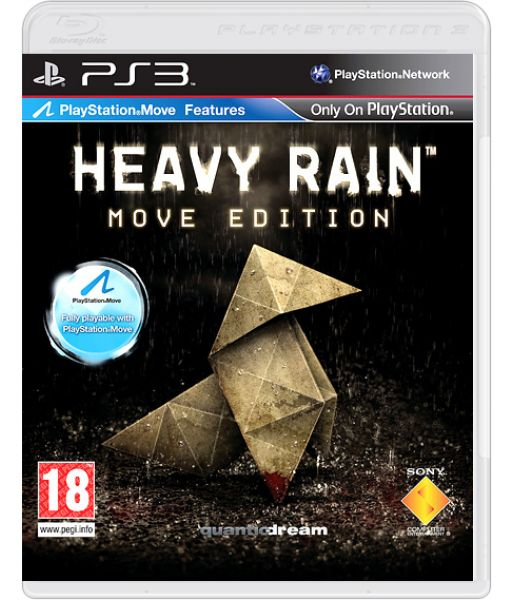 Heavy Rain [Platinum, Move Edition] (PS3)