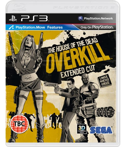 House of the Dead: Overkill - Extended Cut [с поддержкой PS Move] (PS3)