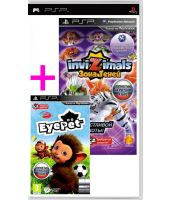 Комплект EyePet + Invizimals [Essentials, русская версия] (PSP)