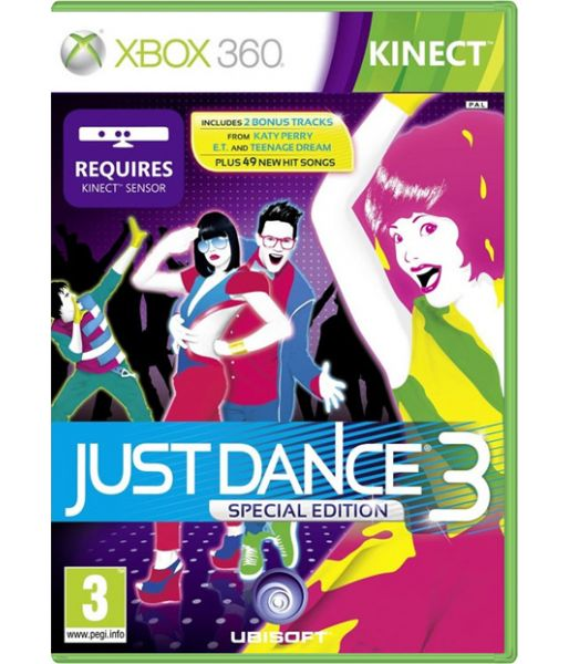 Just Dance 3. Special Edition [для Kinect] (Xbox 360)