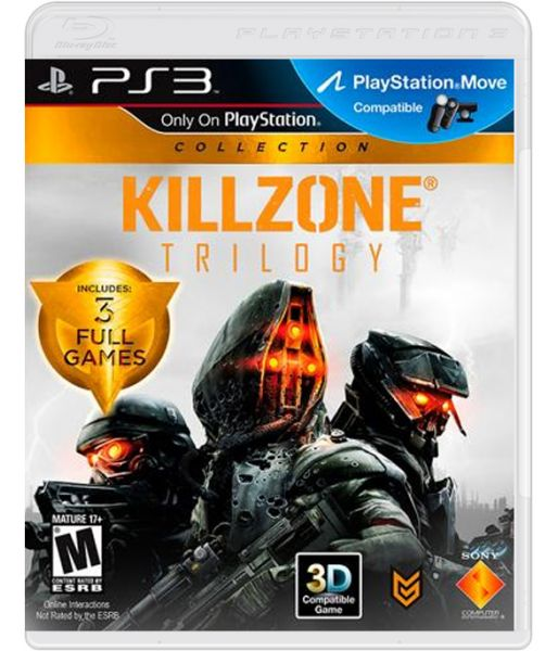 Комплект Killzone Trilogy: Killzone 3+Killzone 2 [русская версия]+Killzone HD (PS3)