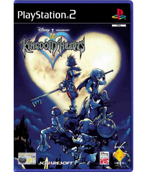 Kingdom Hearts [Platinum, рус. док.] (PS2)