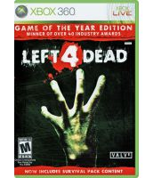 Left 4 Dead. Game of the Year Edition [русская версия] (Xbox 360)