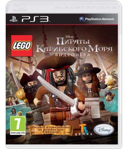 LEGO Пираты Карибского моря [русская версия] (PS3)