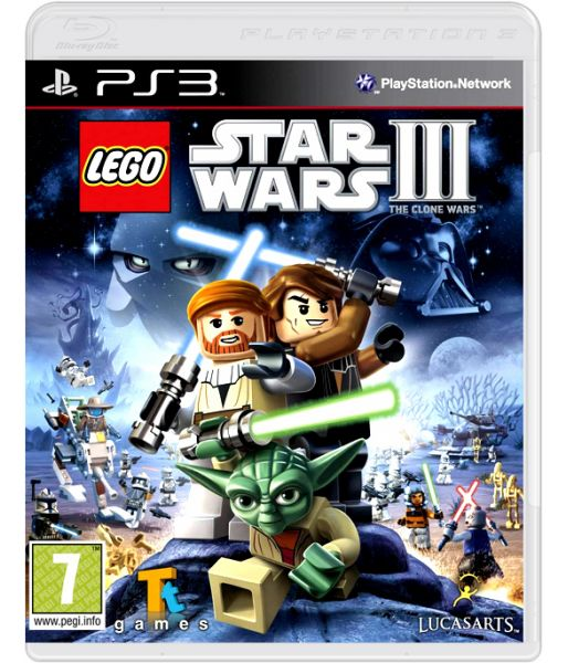 LEGO Star Wars III: the Clone Wars [русская документация] (PS3)