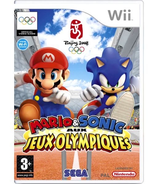Mario & Sonic at the Olympic Games [DVD-box] (Wii)