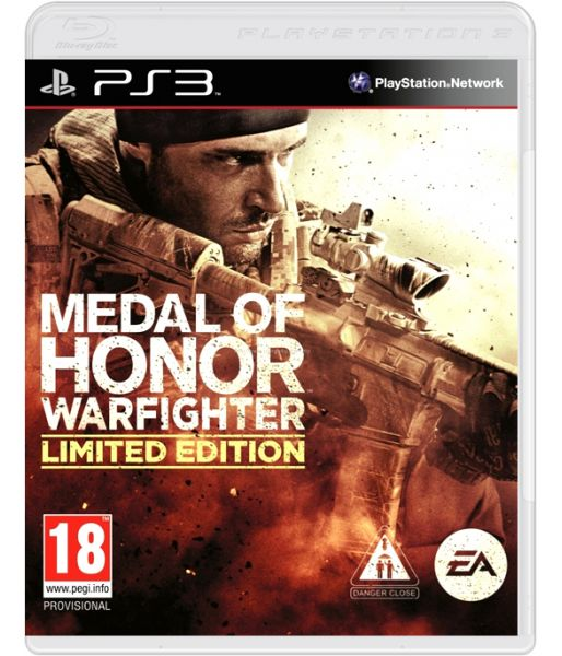 Medal of Honor: Warfighter. Limited Edition [Русская версия] (PS3)