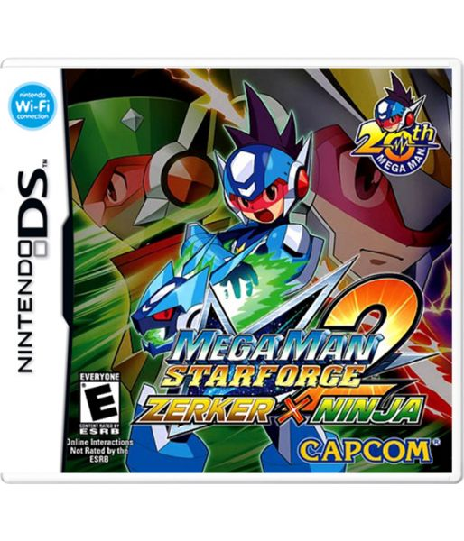 Mega Man: Star Force 2. Ninja (NDS)