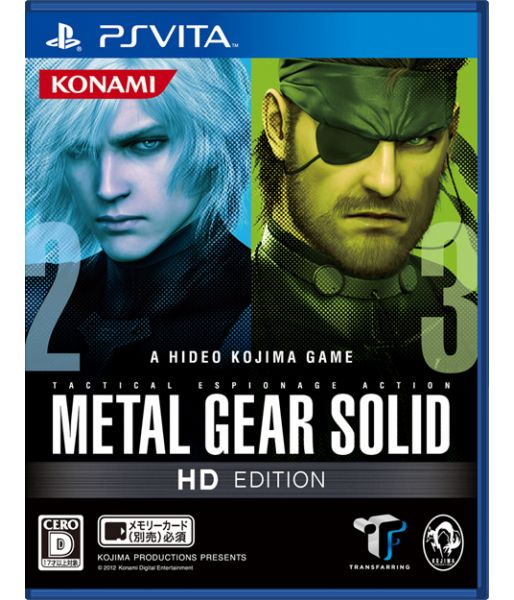 Metal Gear Solid HD Collection [английская версия] (PS Vita)
