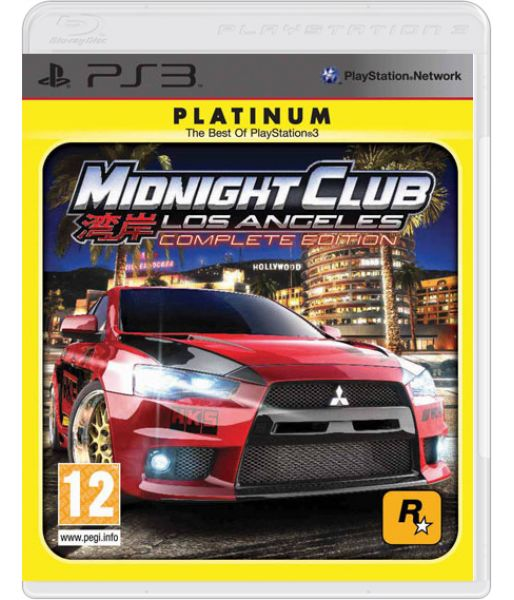Midnight Club LA Complete Edition (Platinum) (PS3)
