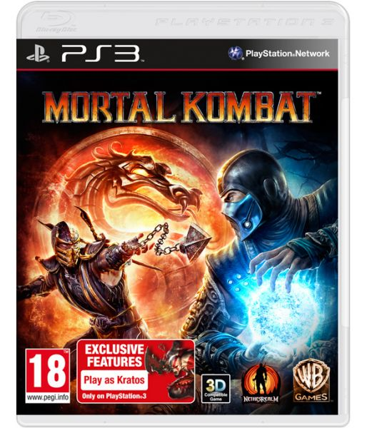 Mortal Kombat [Essentials с поддержкой 3D, русская документация] (PS3)