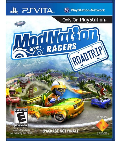 ModNation Racers: Road Trip [русская версия] (PS Vita)
