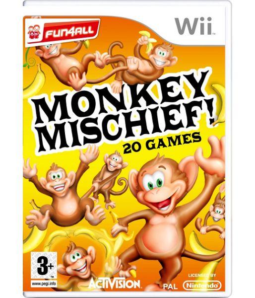 Monkey Mischief! 20 Games (Wii)
