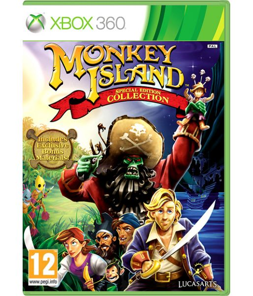 Monkey Island Special Edition Collection (Xbox 360)