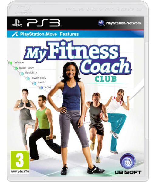 My Fitness Coach Club [русская документация] (PS3)