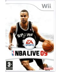 NBA Live 09 [DVD-box] (Wii)