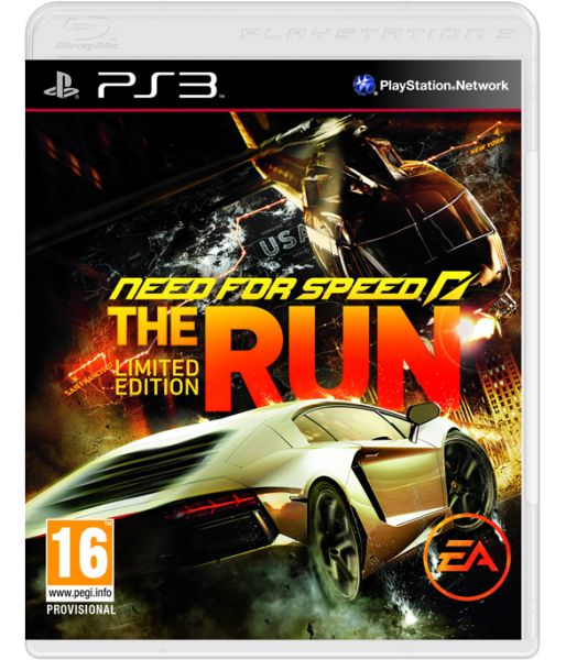 Need for Speed: The Run. Limited Edition [русская версия] (PS3)