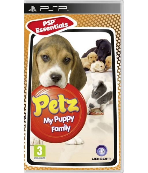 Petz - My Puppy Family [русская версия] (PSP)
