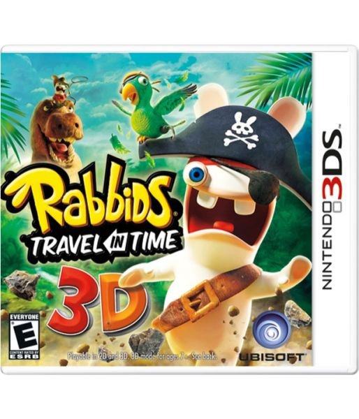 Rabbids Travel in Time (3DS)
