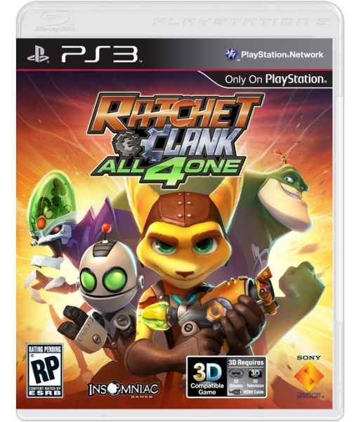 Ratchet and Clank: All 4 One [platinum, русская версия] (PS3)
