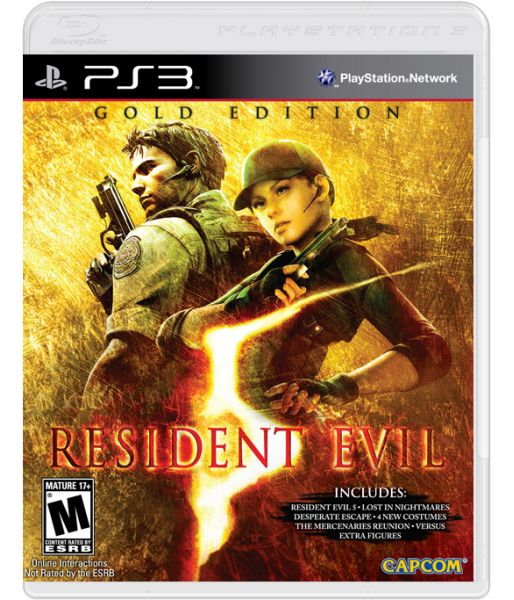 Resident Evil 5: Gold Edition [с поддержкой PS Move] (PS3)