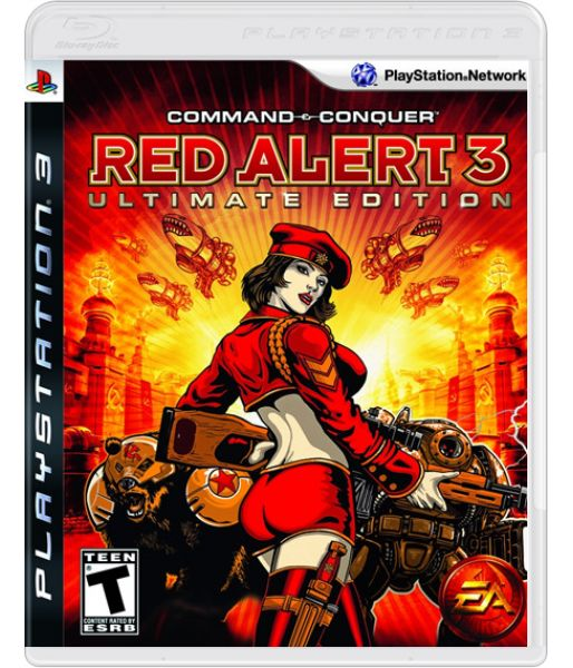 Command & Conquer: Red Alert 3 Ultimate Edition [русская версия] (PS3)