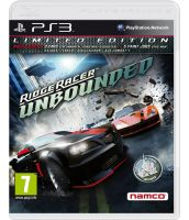 Ridge Racer: Unbounded. Limited Edition [русская документация] (PS3)
