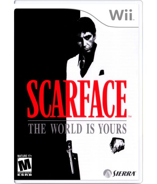 Scarface: The World is Yours [DVD-box] (Wii)