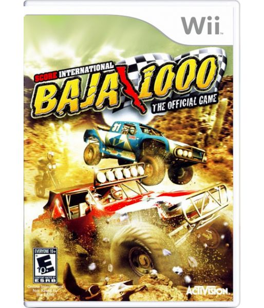Score International Baja 1000 World Championship off Road Racing [DVD-box] (Wii)