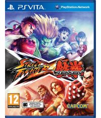 Street Fighter X Tekken [русские субтитры] (PS Vita)