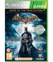 Batman Arkham Asylum - Game of the Year [Classics, русская документация] (Xbox 360)