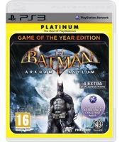 Batman: Arkham Asylum - Game of the Year (PS3) [Русская документация, platinum]