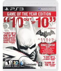 Batman: Arkham City -Game of the Year Edition (PS3) [Русские субтитры]