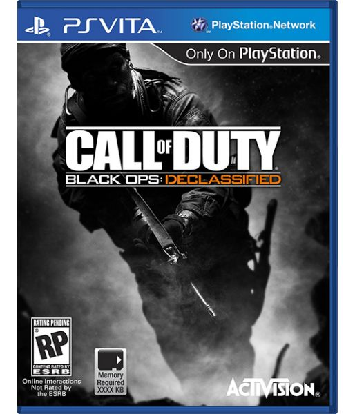 Call of Duty: Black Ops Declassified [русская версия] (PS Vita)