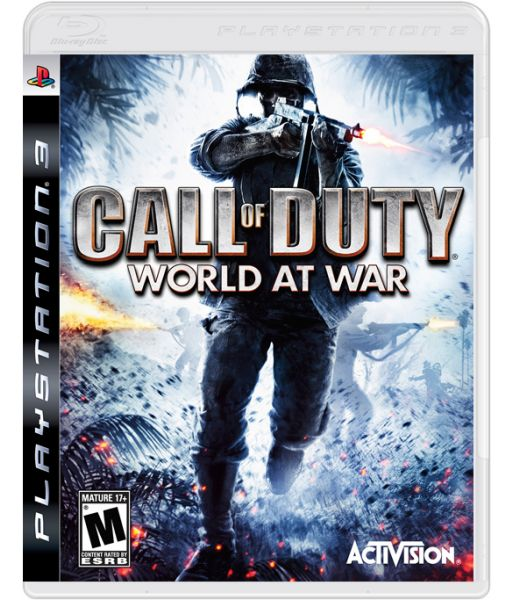 Call of Duty: World at War [русская версия] (PS3)